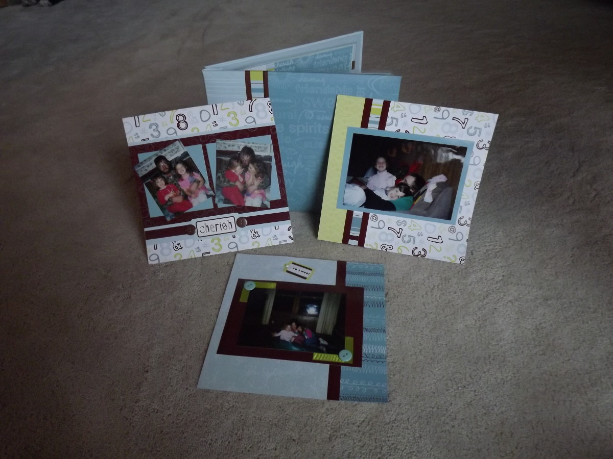 Completed Scrapbooking Kit