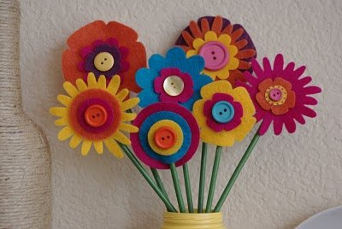 Easy And Entertaining Spring Craft Ideas For Kids Feltmagnet Crafts