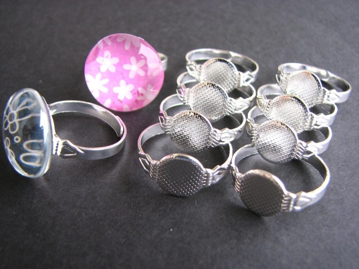 Jewelry findings- rings
