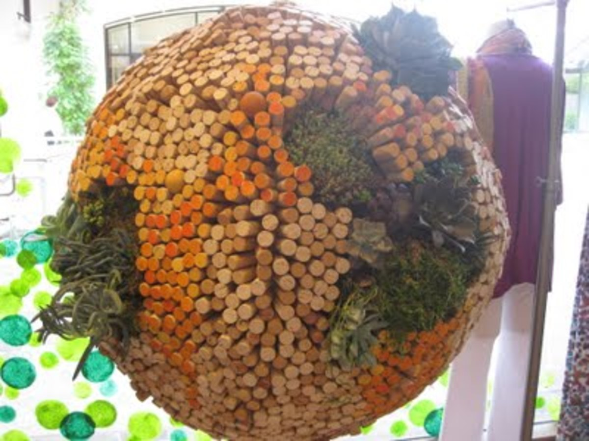 How to use wine corks crafts home d cor projects garden for Garden design ideas cork