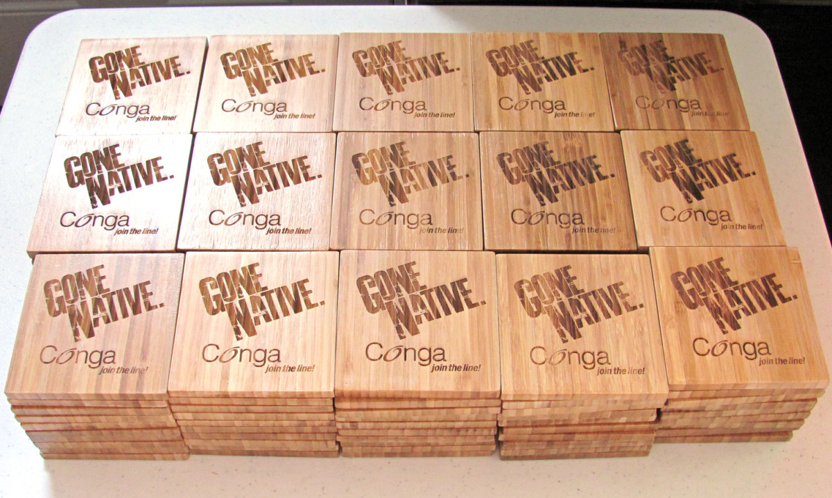 One of my good friends on Etsy has done a handful of wholesale coaster orders.