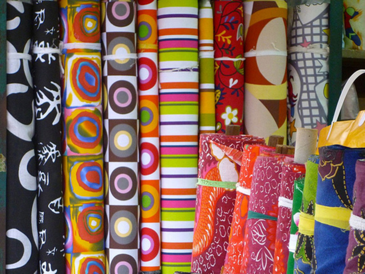 It's important to create an organizational system for your large stash of craft supplies.