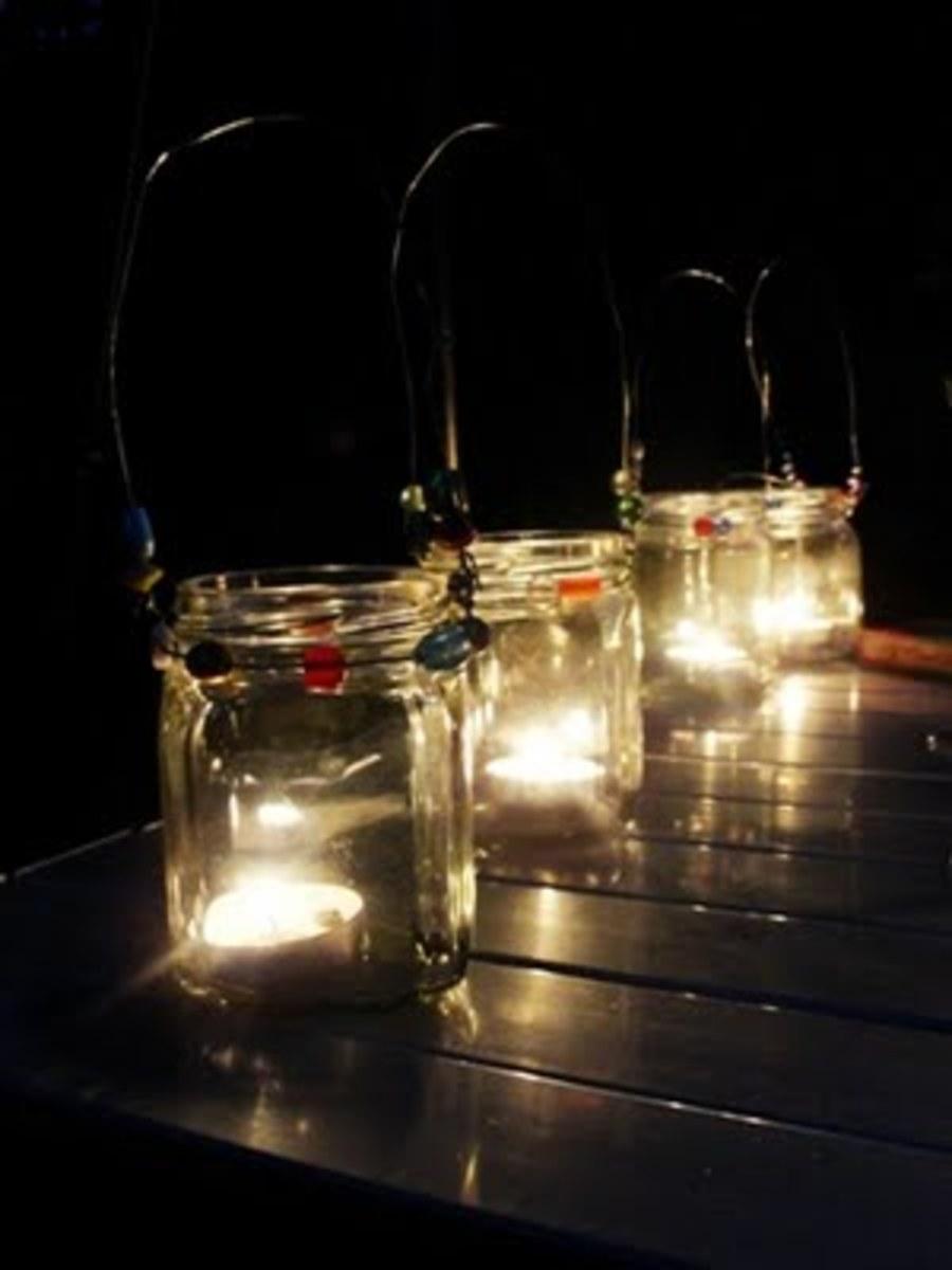 Spring Garden Lanterns