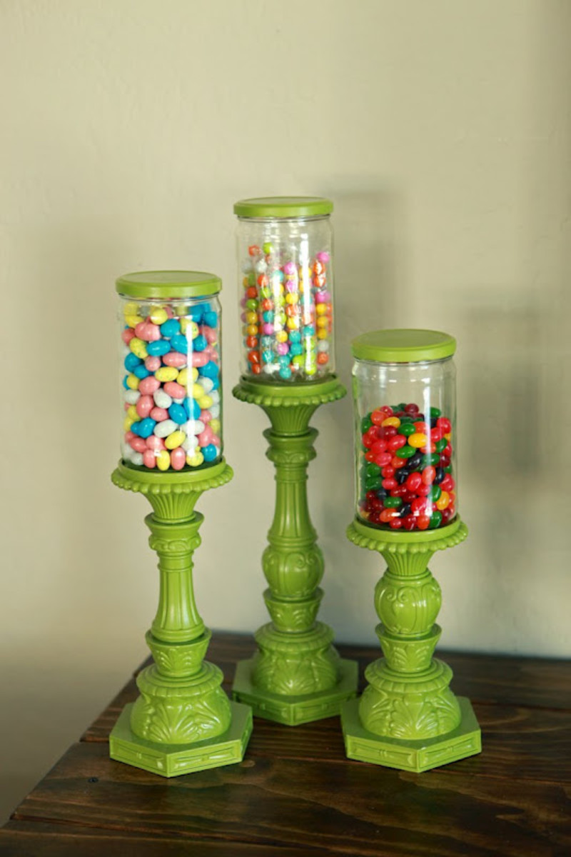 Apothecary Type Candy Jars