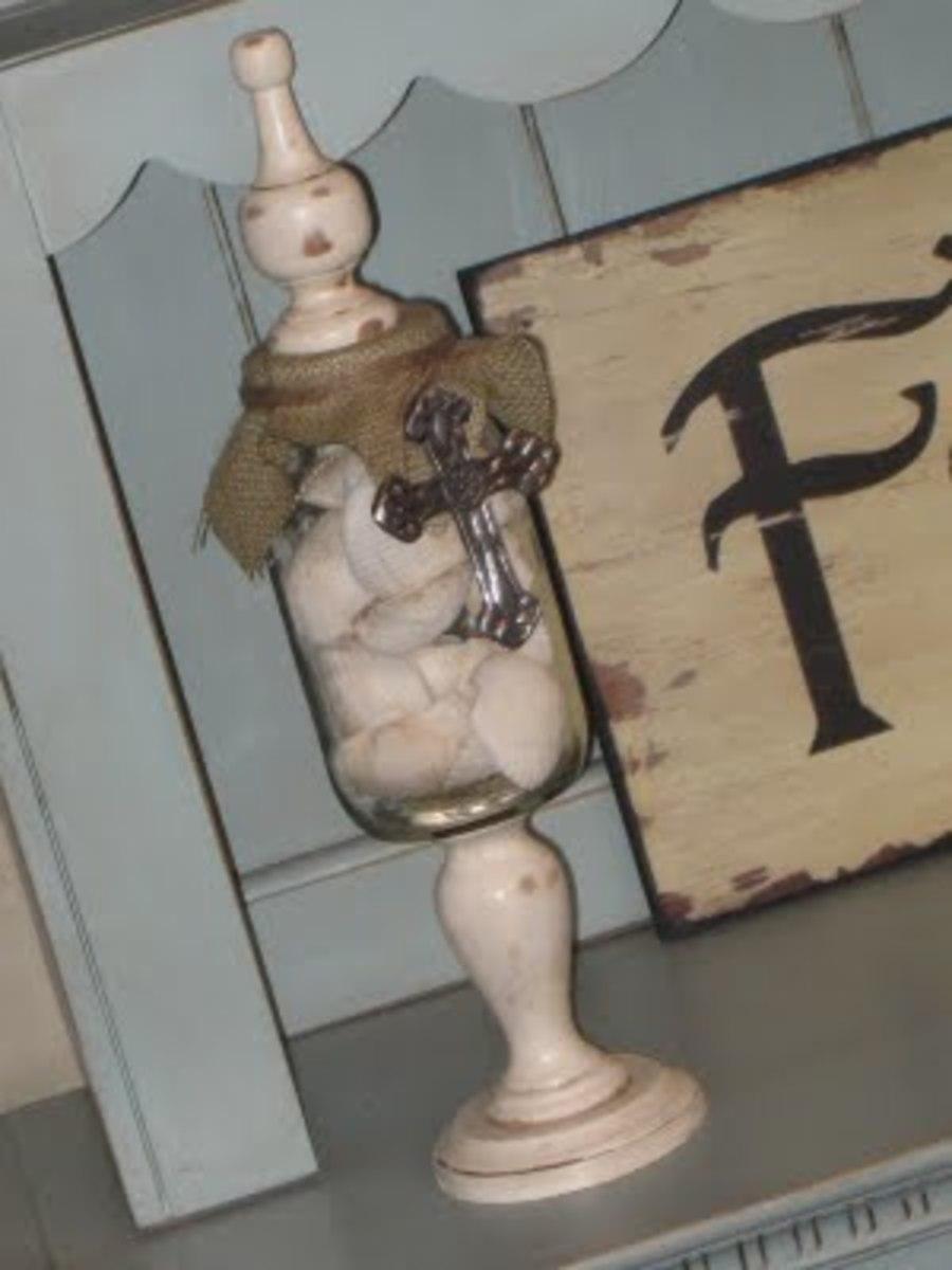 Decorative Apothecary Jar
