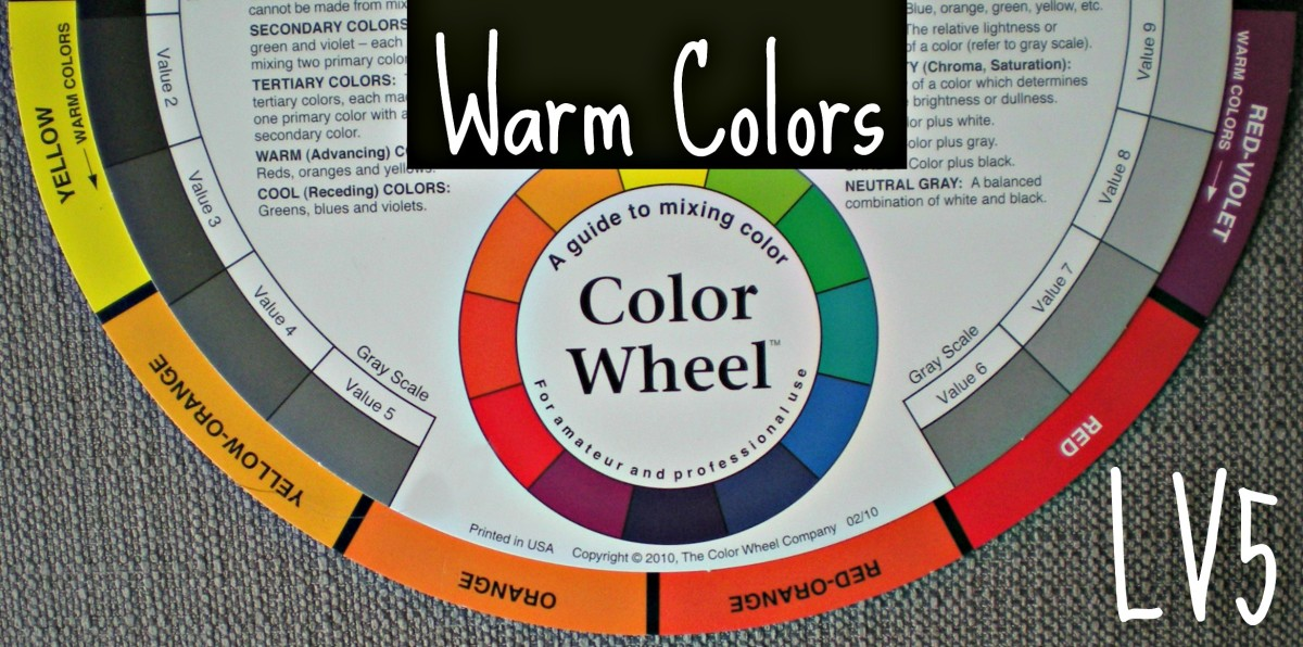 This Half Of The Color Wheel Contains Warm Colors