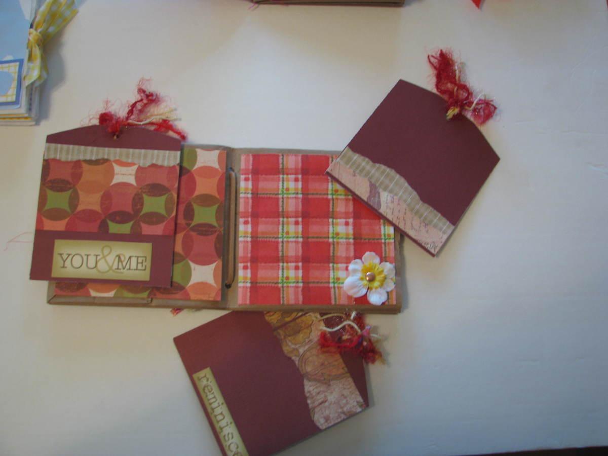 Fall theme Paper Bag scrapbook