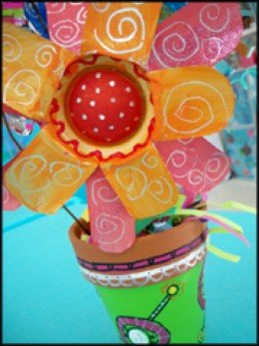Soda Can Flower Decor