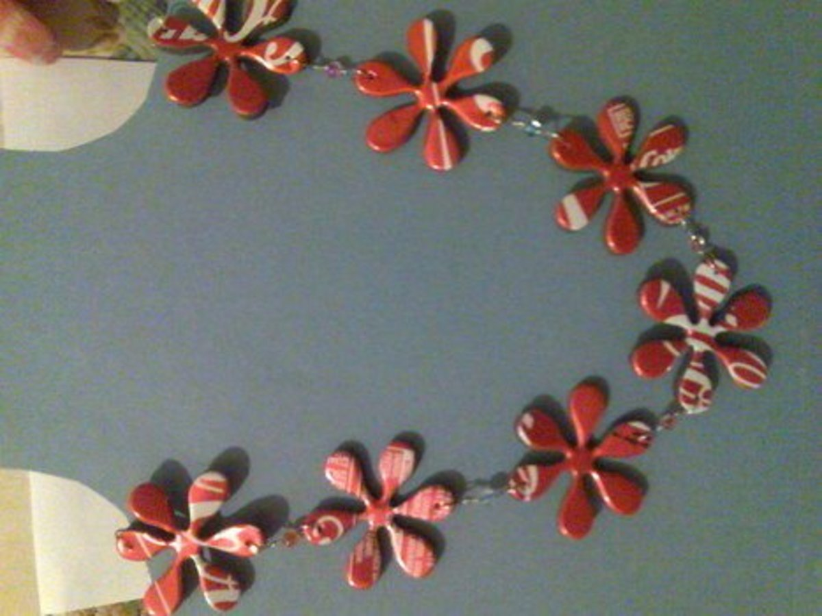 coke can necklace