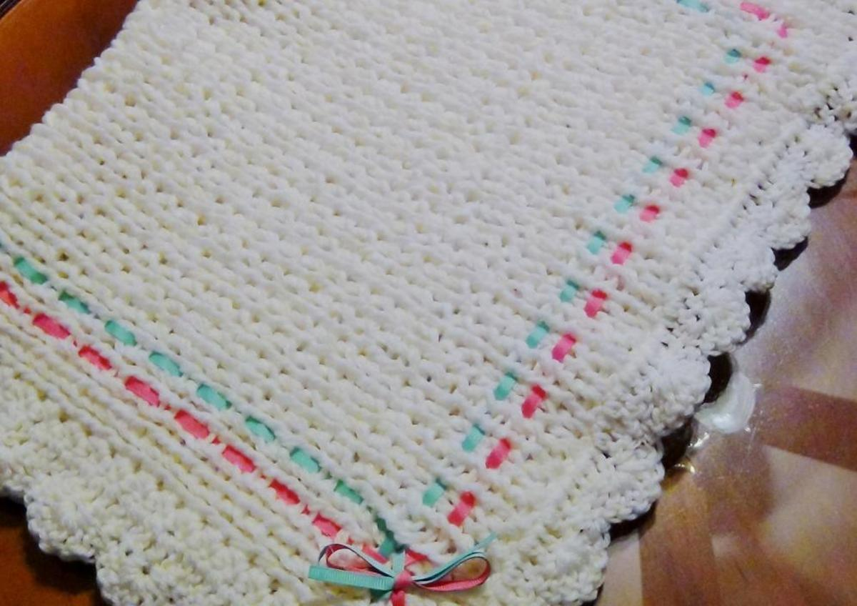 Knifty Knitter Baby Blanket Pattern