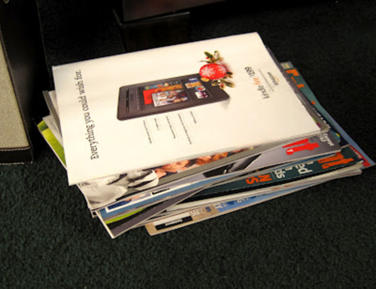 If you get a weekly magazine and/or a handful of monthly magazines, your stacks can accumulate quickly.