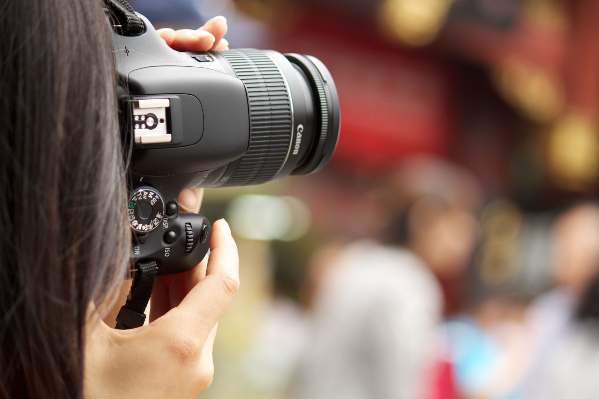 The Canon Rebel line is a fantastic entry level DSLR line for beginner middle school and high school photographers
