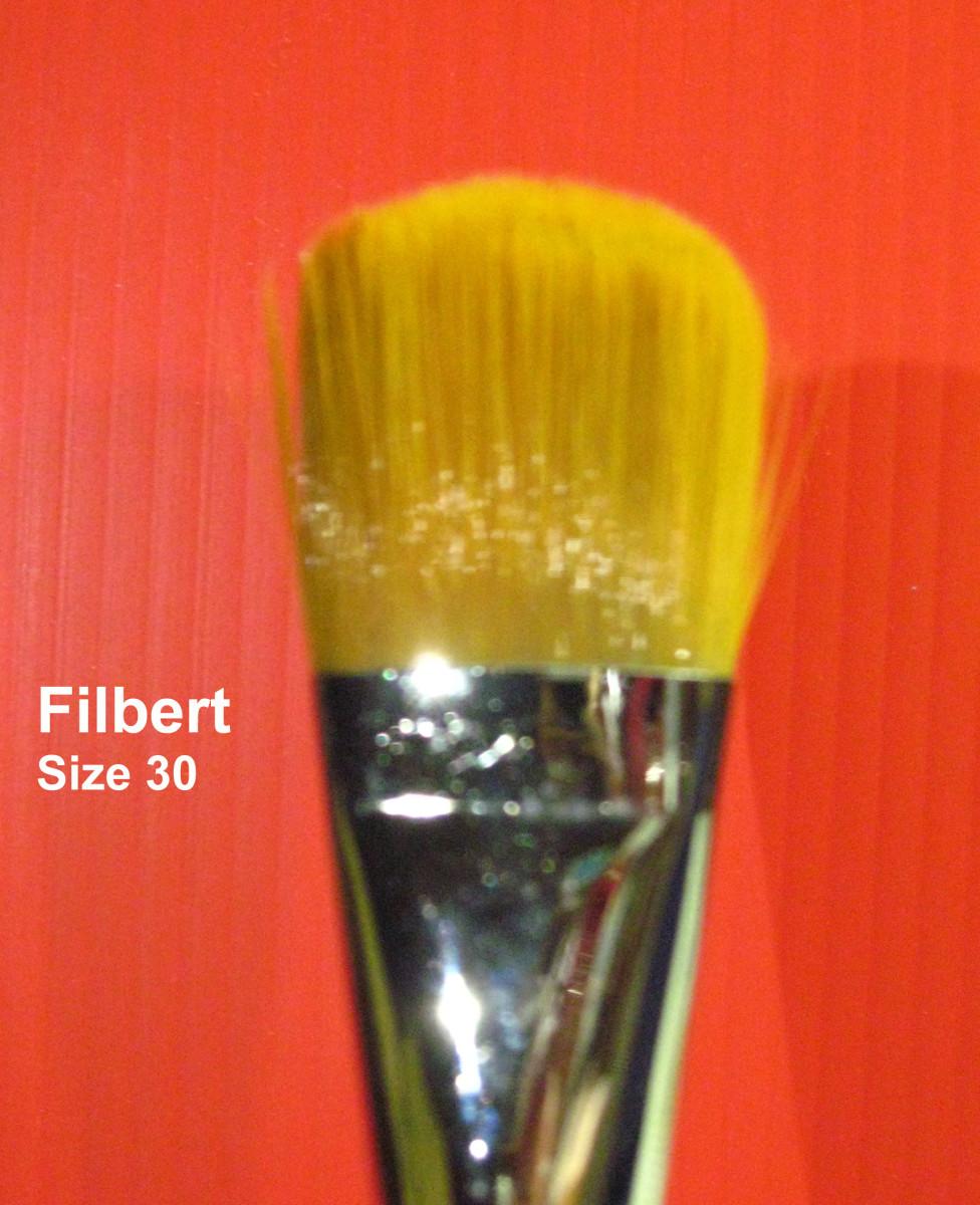 Big Filbert Brush
