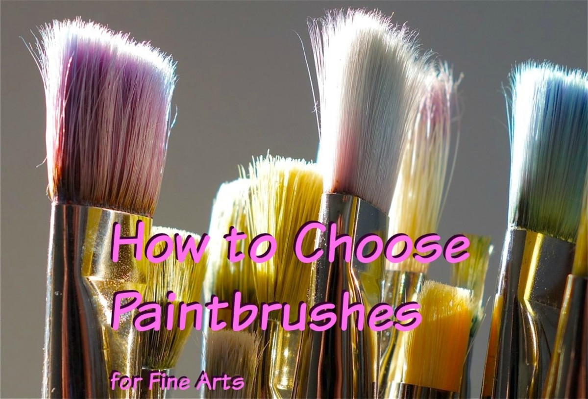 Guide to Choosing the Best Paint Brushes for Acrylics and Oils