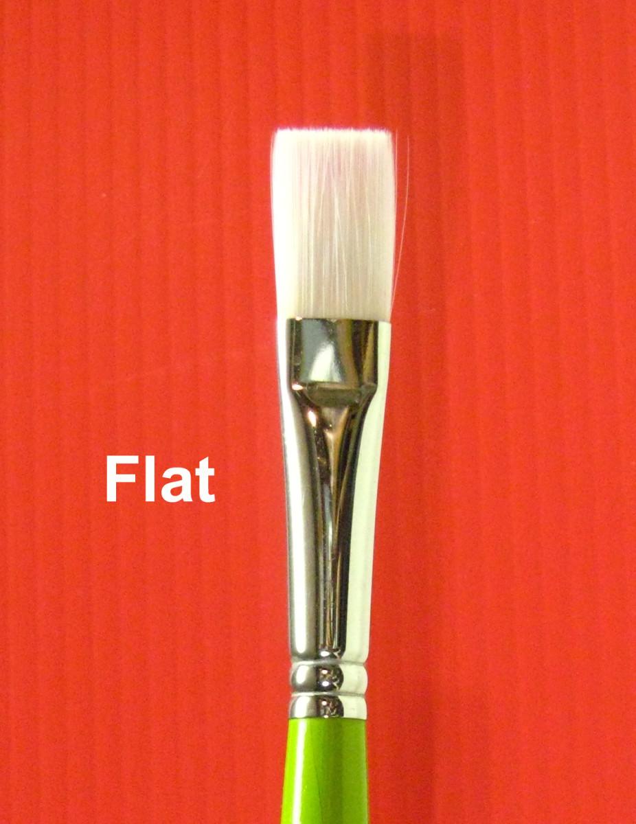 Medium Flat Brush