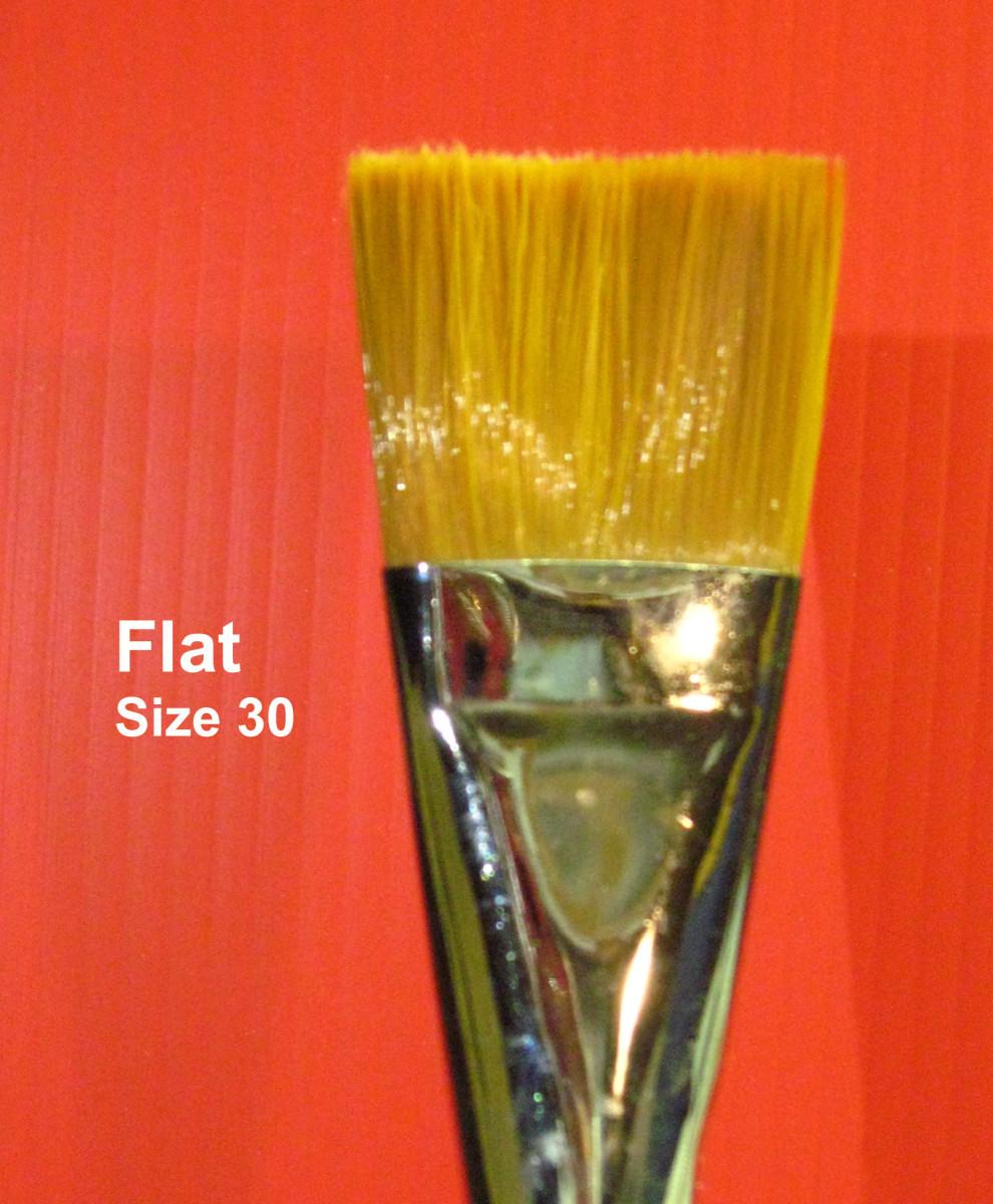 Big Flat Brush