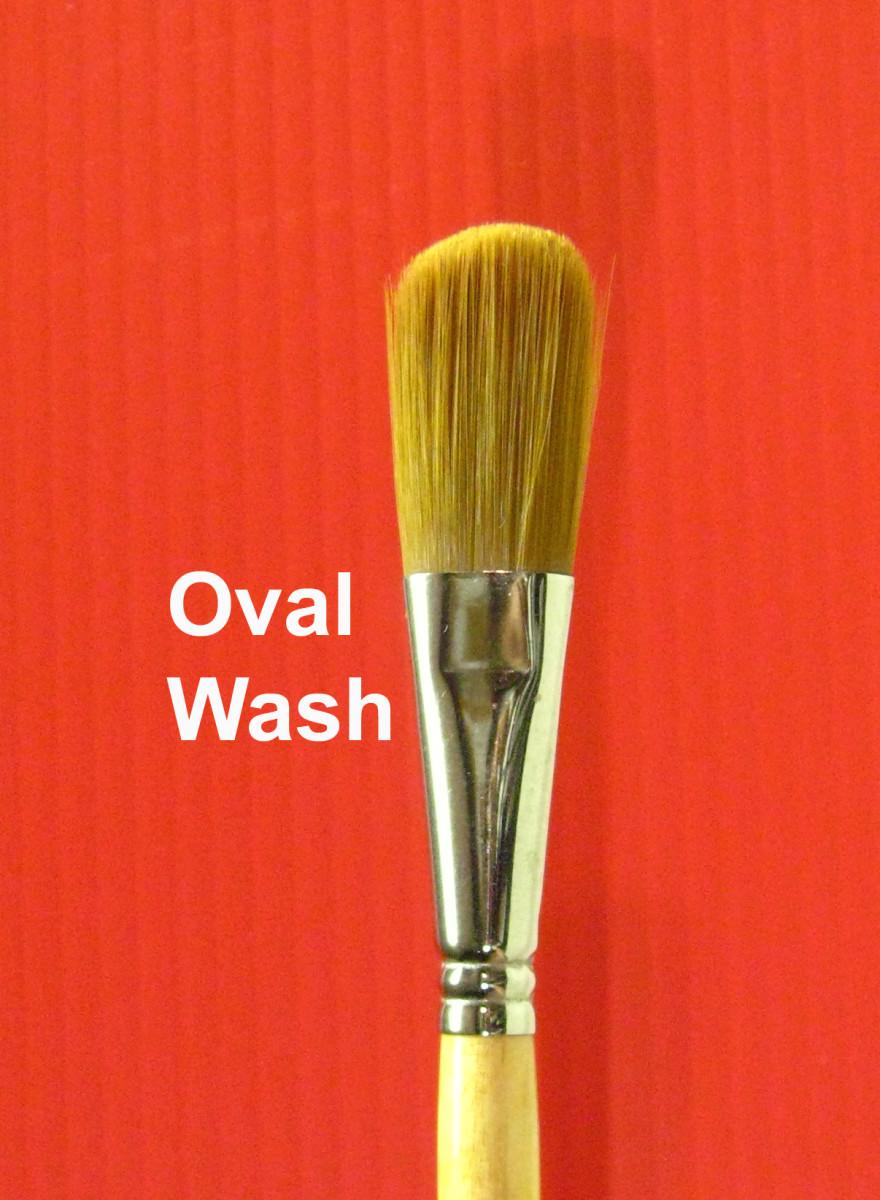 Oval Brush