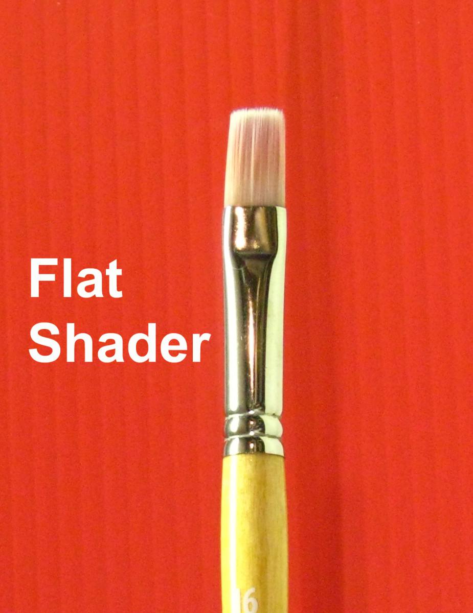Small Flat Shader Brush