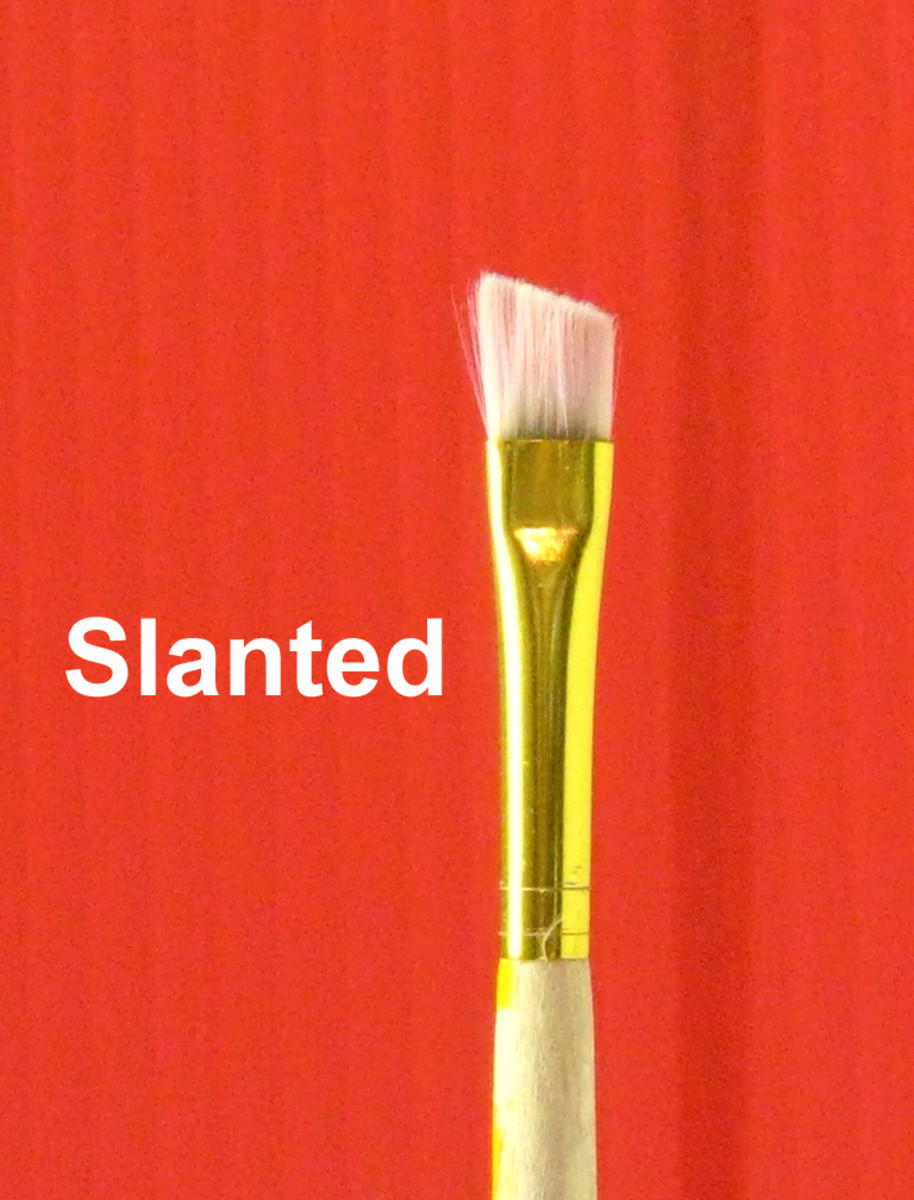 Slanted Brush