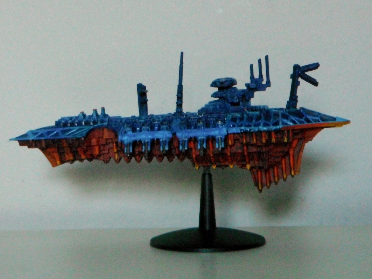 A sci-fi space ship - Battlefleet Gothic