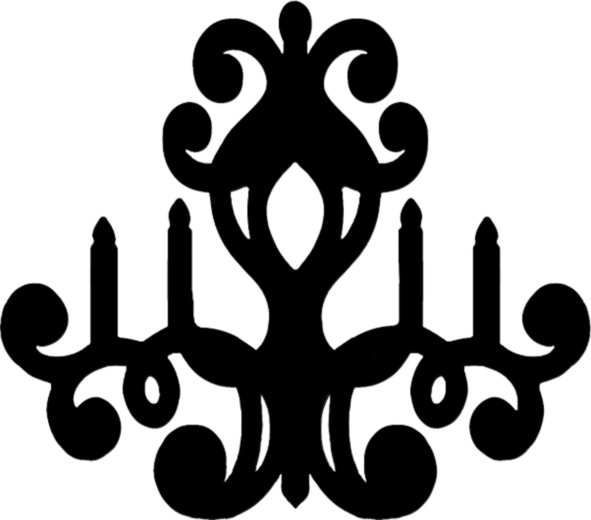 chandelier template
