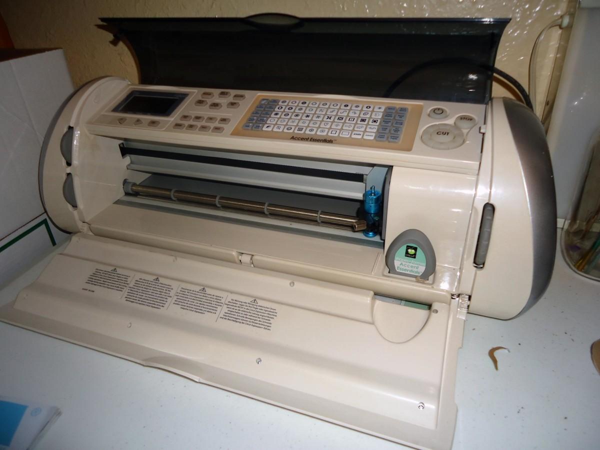 I cut mine out with the Cricut digital cutter