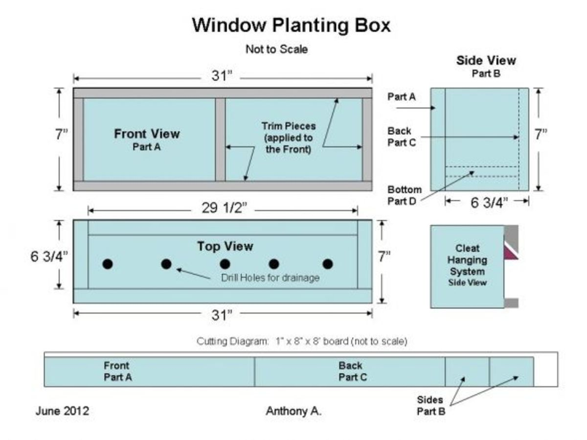 Window Planter Box Plans: How To Build A Window Box | hubpages