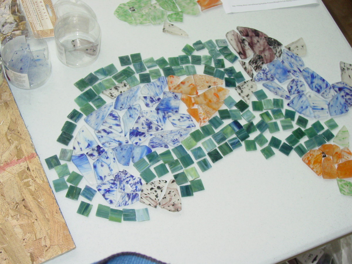 Laying out the tiles