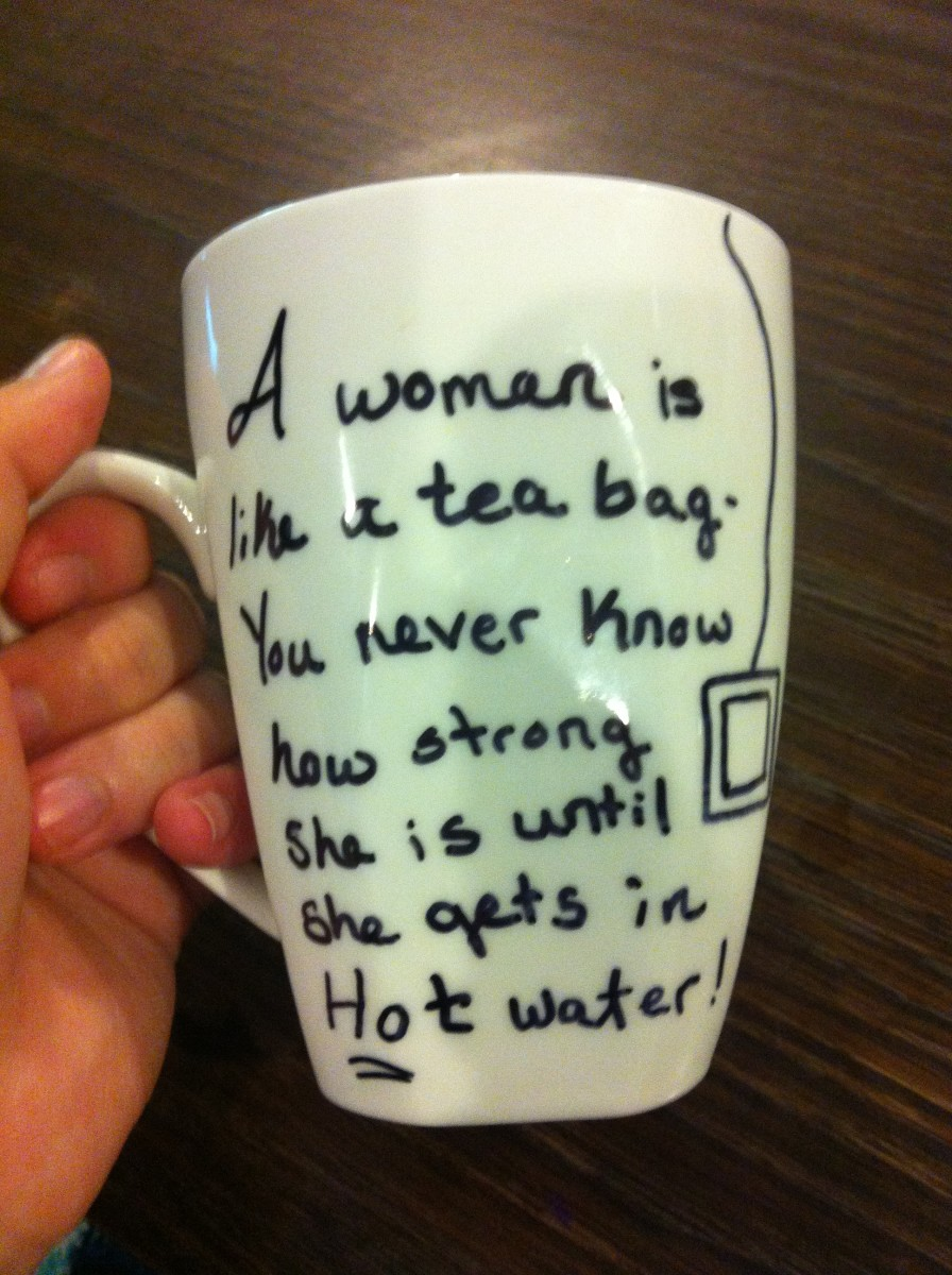 A woman is like a tea bag - You never know how strong she is until she gets in hot water. - Eleanor Roosevelt