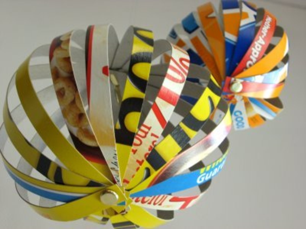 Cereal Box Globes