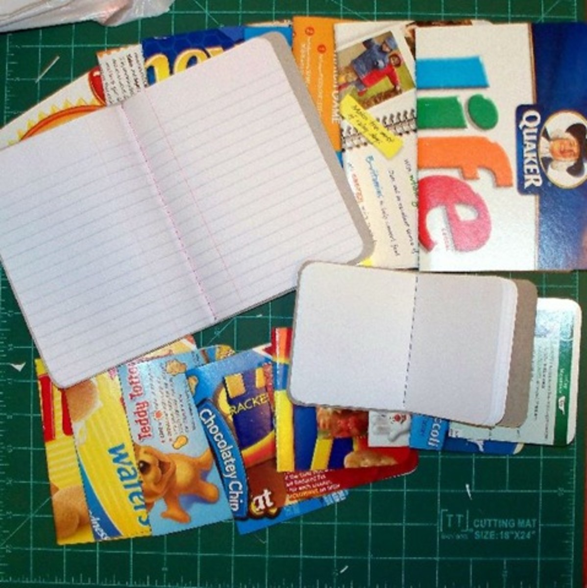 Cereal Box Books Notebooks