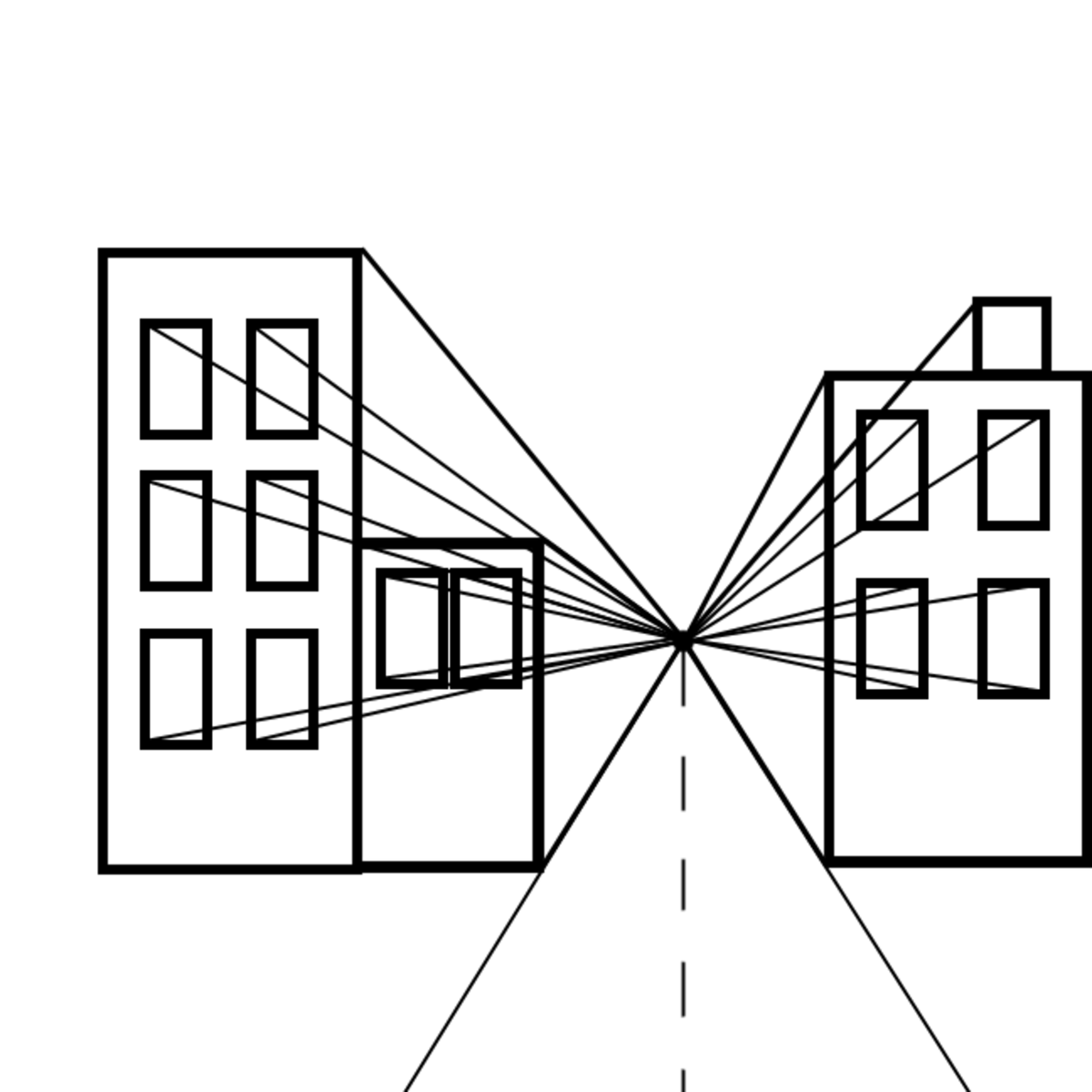 2. Draw the lines.