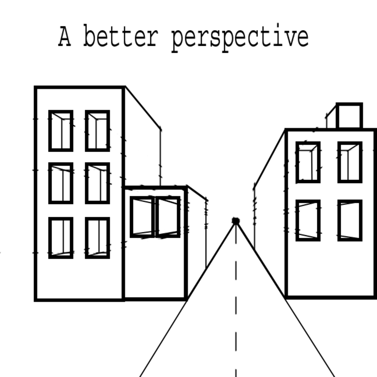 How to add perspective to your drawings