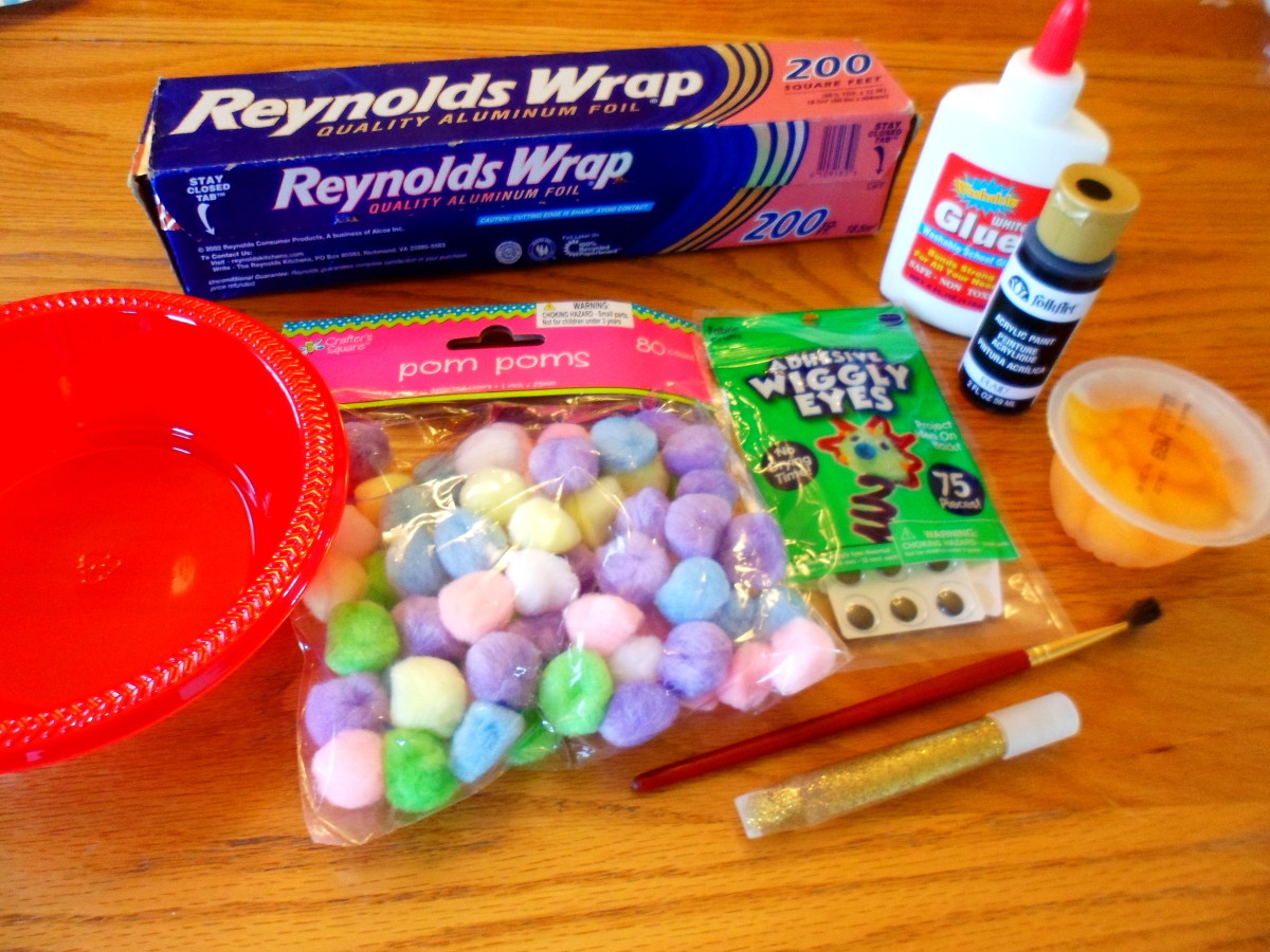 The supplies you need to make an alien spaceship.