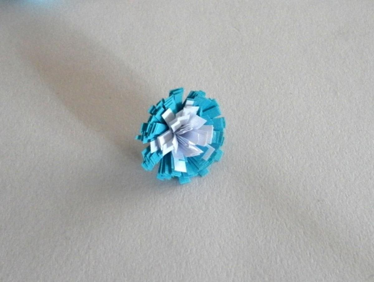 Fringed flower with white fringed centre