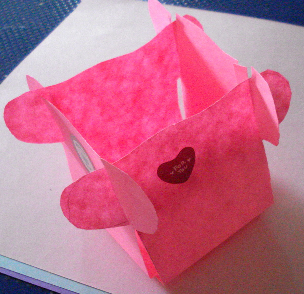 Paper Cutting: Simple Basket