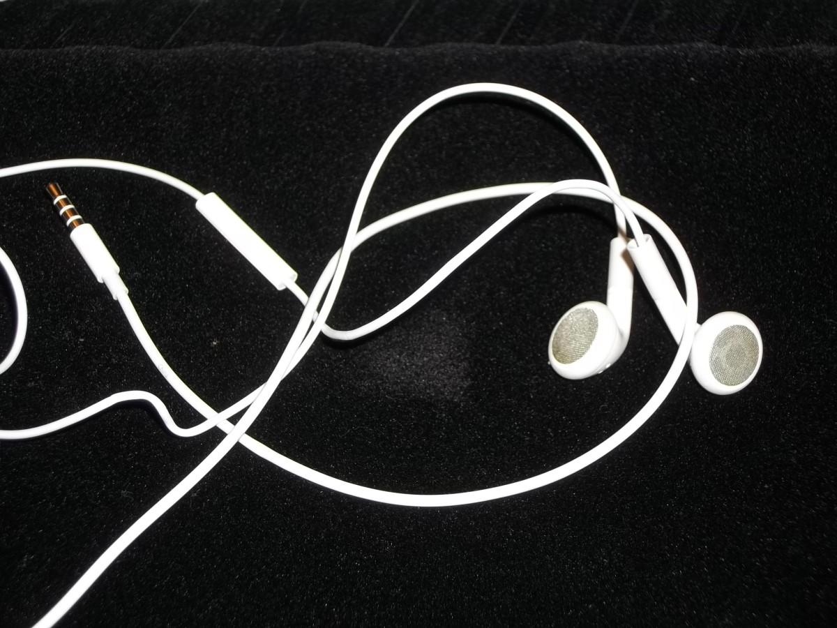 Plain Earbuds.