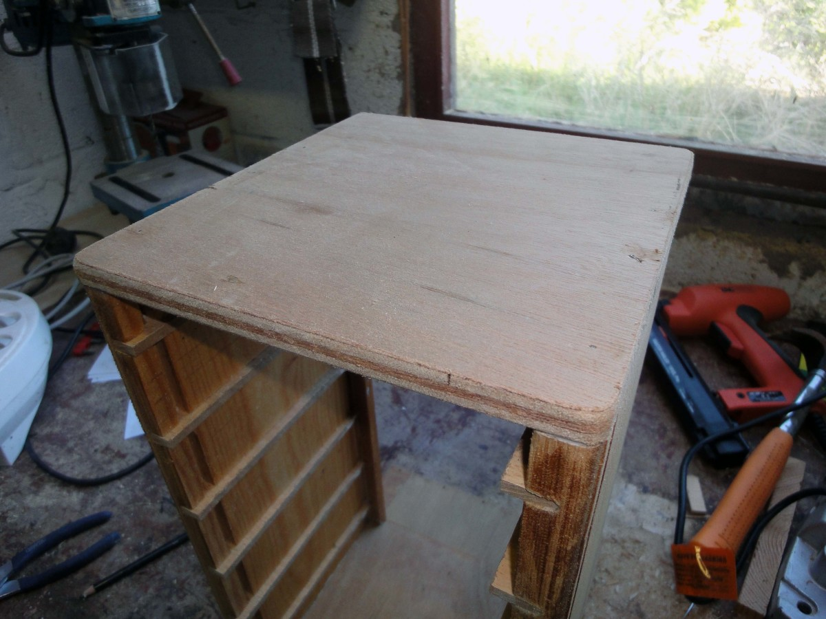 Plywood top piece