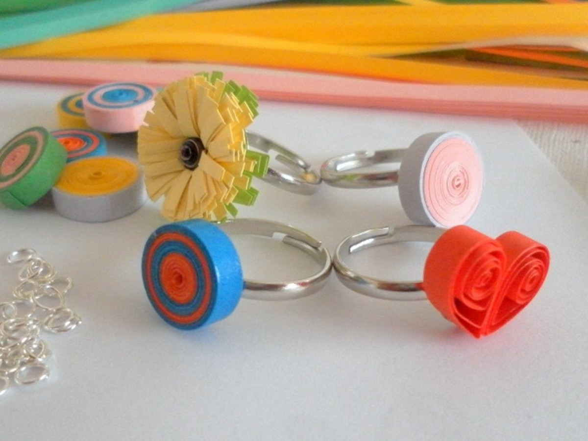 How to make your own quilled jewelry feltmagnet for How to make your own quilling paper