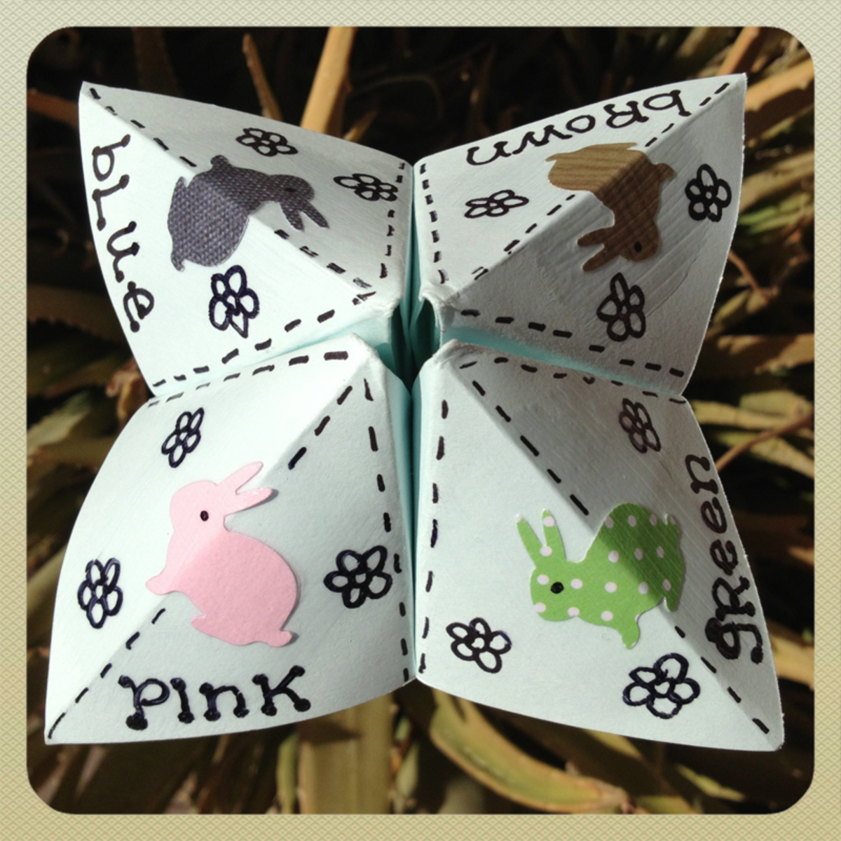 Cootie Catcher Game
