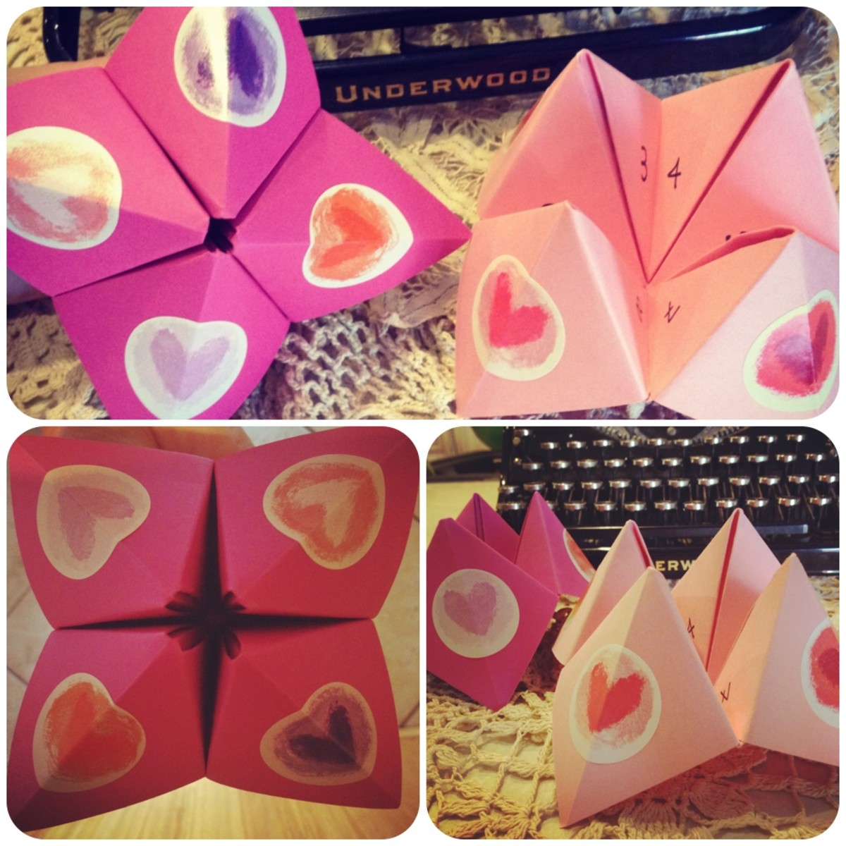 how to make a cootie catcher video