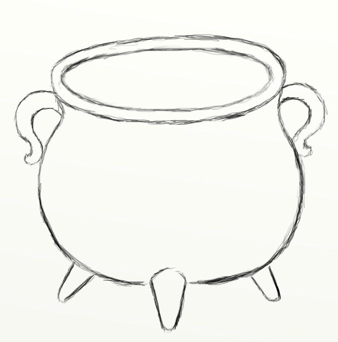 how-to-draw-a-cauldron