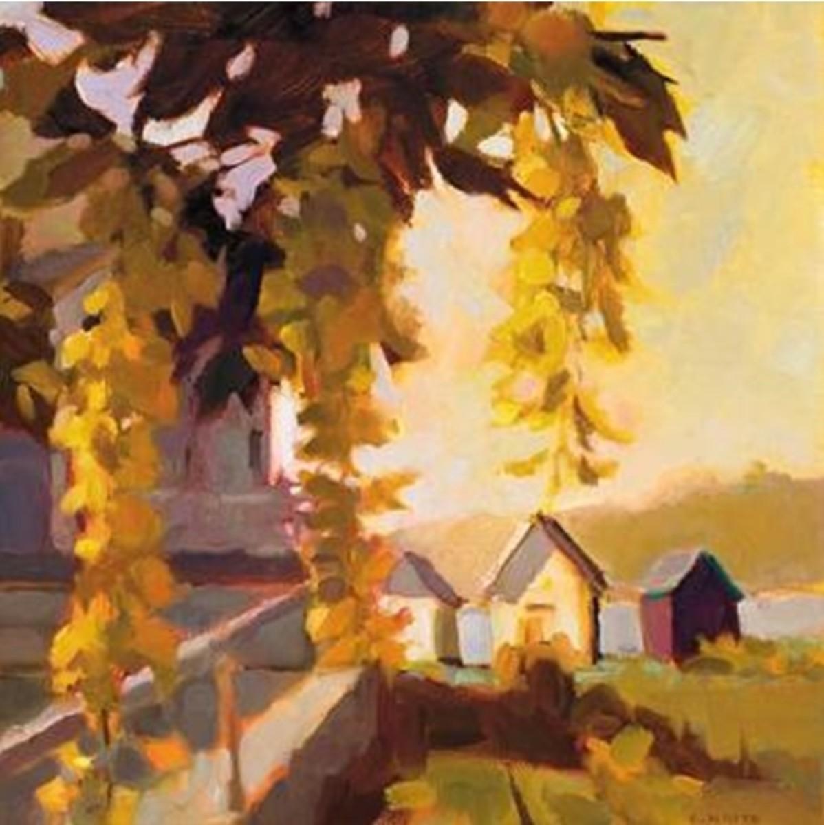 """""""Liburnum, Vinalhaven,"""" by Connie Hayes"""