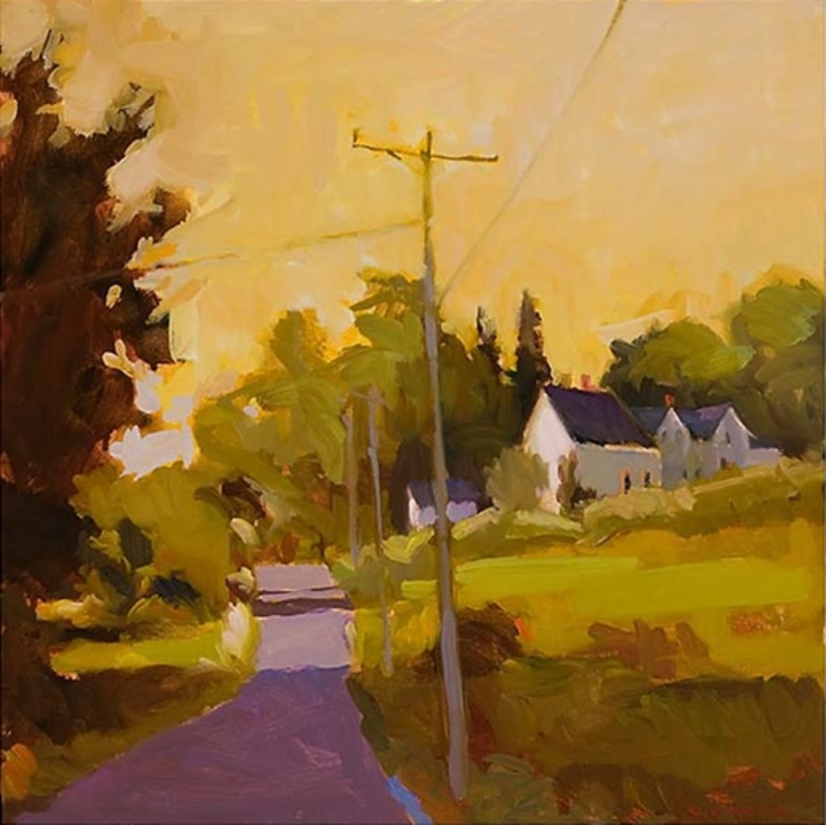 """""""September Road,"""" by Connie Hayes"""