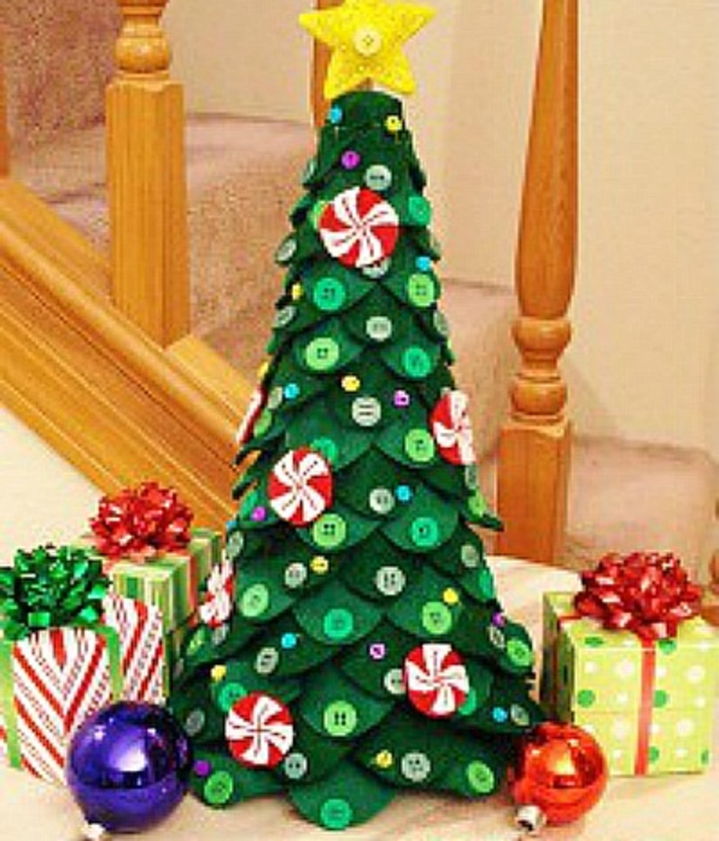 57 stunning diy tabletop tree ideas feltmagnet make christmas tree wall art youll want to use year after year these are easy to customize so you can make them for yourself or as a gift for someone solutioingenieria Image collections