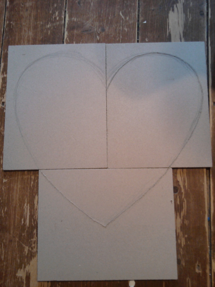 Step 2: Draw Heart Shape