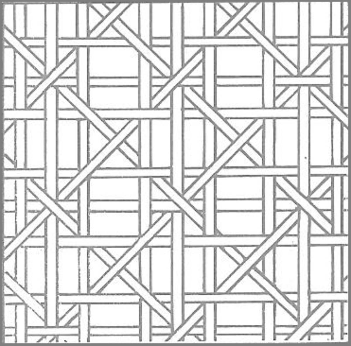 Figure 2: An Alternative Caning Pattern