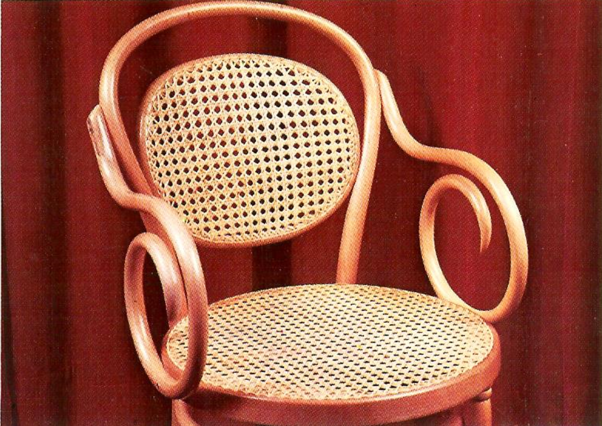 Split Cane Chair Seat & Back