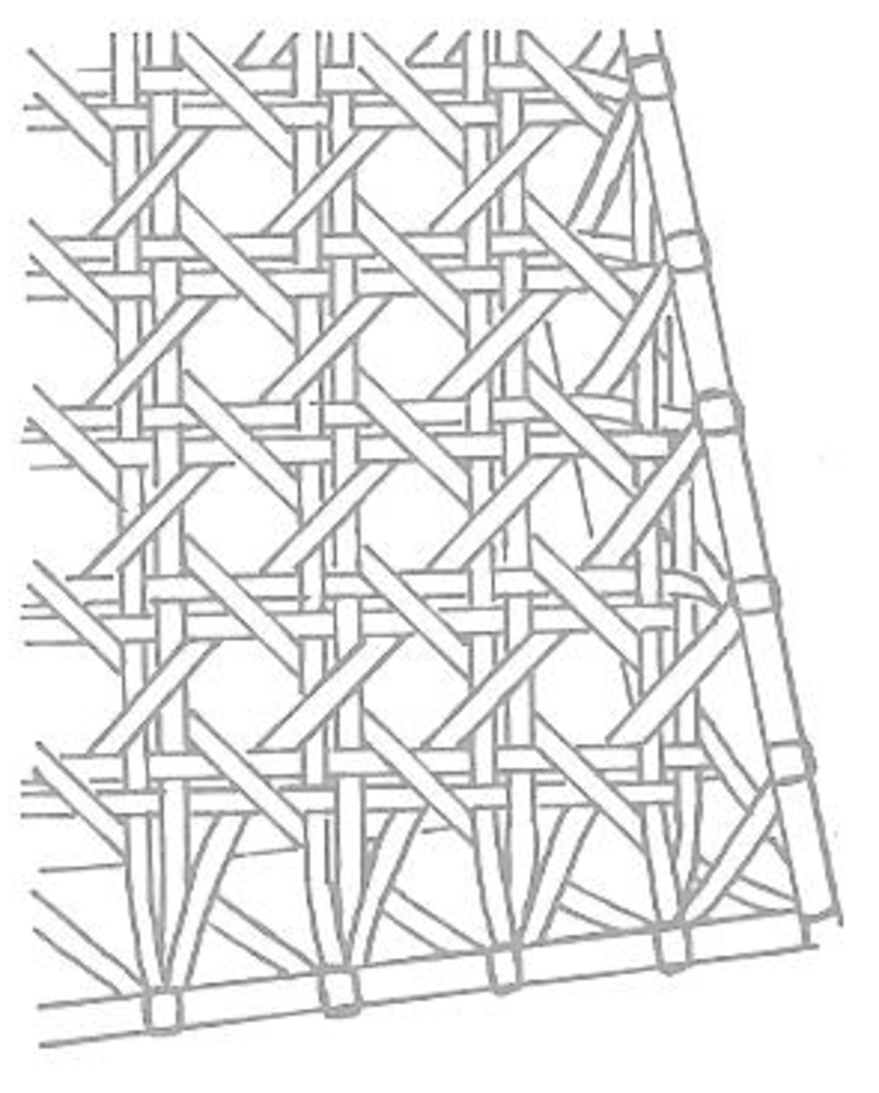 Figure 4: Final Diagonal Rows of Cane