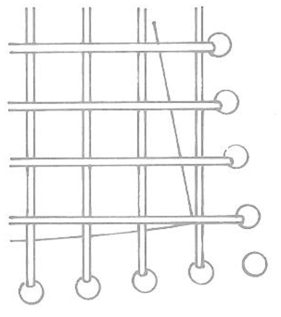 Figure 1: Second Row in Place